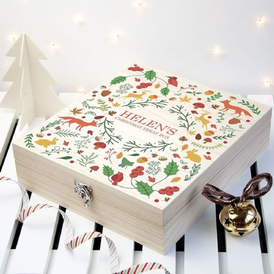 Christmas Treat Boxes with Sweets